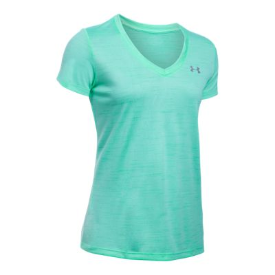 Under Armour Tech Tiger Twisted Women's Short Sleeve Top