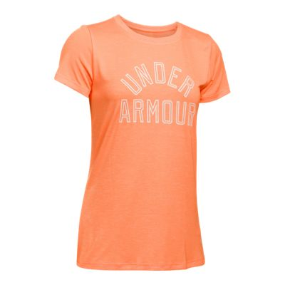 Under Armour Women's Tech Twisted Graphic Crew T Shirt