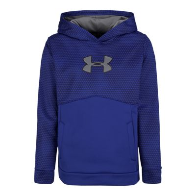 Under Armour Boys' Storm Armour® Fleece Mid Logo Hoodie