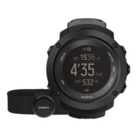 Suunto Ambit 3 Vertical GPS Watch With Heart Rate Monitor - Black