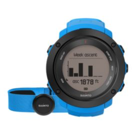 Suunto Ambit 3 Vertical GPS Watch with Heart Rate Sensor - Blue