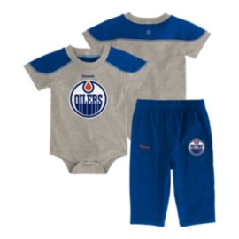 Edmonton Oilers Baby Future All-star Onesie Set