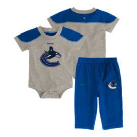 Vancouver Canucks Baby Future All-star Onesie Set