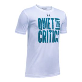 Under Armour Quiet The Critics Boys' Short Sleeve Tee
