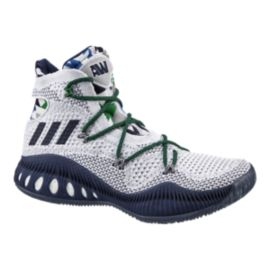 "adidas Men's Crazy Explosive Primeknit ""Wiggins"" Basketball Shoes - White/Navy Blue"