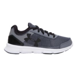 Under Armour Kids' Speed Swift Preschool Running Shoes - Graphite