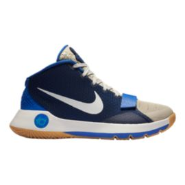 Nike Men's KD Trey 5 III Limited Basketball Shoes - White/Blue/Gum