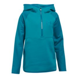 Under Armour Girls' Storm Armour® Fleece Half Zip Hoodie