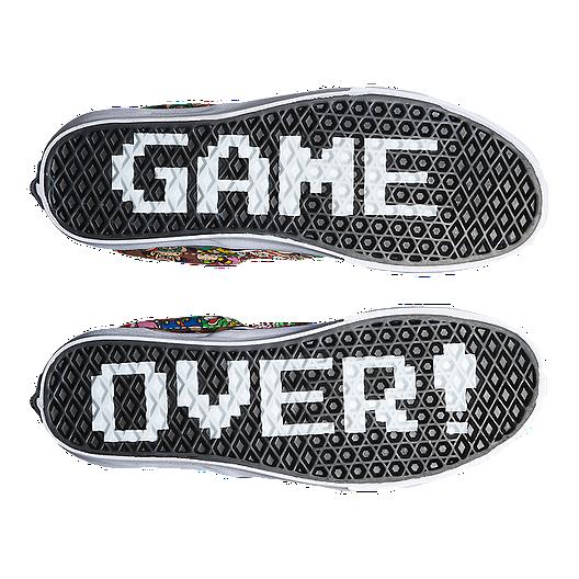 60e6a77686 Vans Classic Slip-On (Nintendo Mario) Skate Shoes