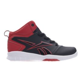 Reebok Kids' Own The Court Basketball Shoes - Black/Red/White