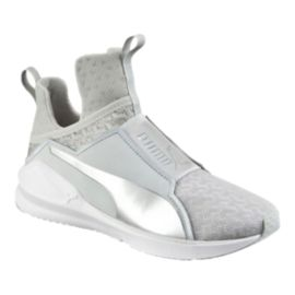 PUMA Women's Fierce Engineered Mesh Shoes - Grey