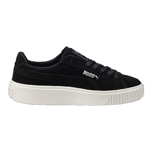 c0ede95e1b2 PUMA Women's Suede Platform (Core) Shoes - Black | Sport Chek