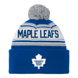 Toronto Maple Leafs Kids' Cuffed Pom Knit
