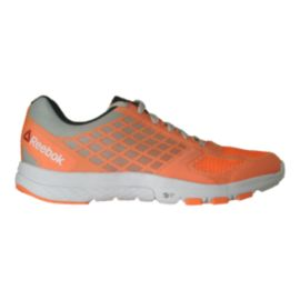Reebok Women's Quantum Leap BTB Training Shoes - Orange/Grey