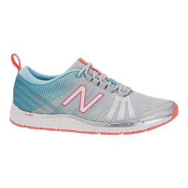 New Balance Women's 811 B Training Shoes - Grey/Blue/Orange