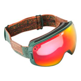 Spy Bravo Happy Hunter Green Ski Goggles - 16/17