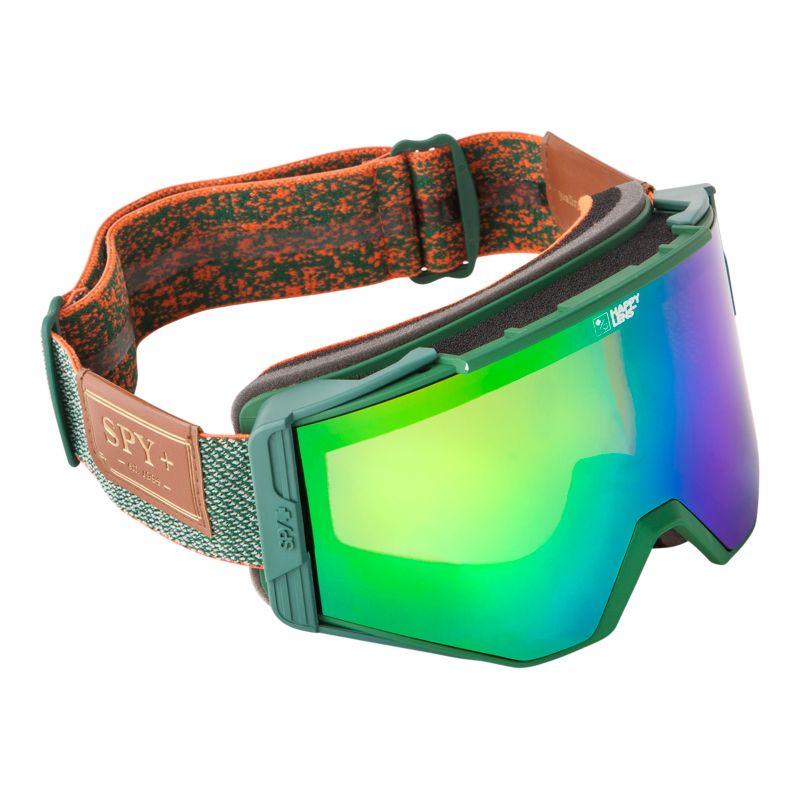 snowboard goggles sale 1jii  Spy Ace Happy Hunter Green Ski Goggles