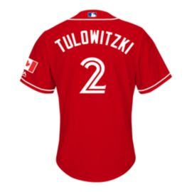 Toronto Blue Jays Troy Tulowitzki Canada Day Baseball Jersey