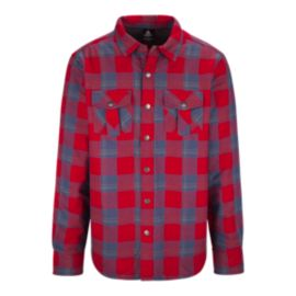 Firefly Scott Sherpa Men's Flannel Top
