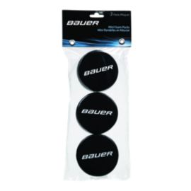 Bauer Mini Foam Pucks - 3 Pack