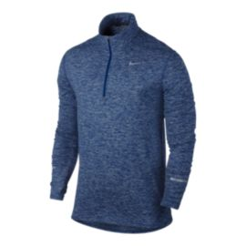Nike Dri-FIT&trade&#x3b; Element Men's Reflective Half Zip Top
