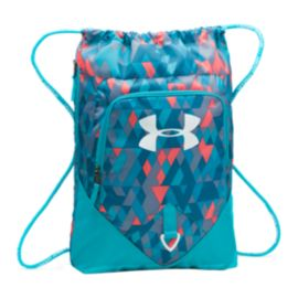 Under Armour Undeniable Sackpack - Blue Pattern