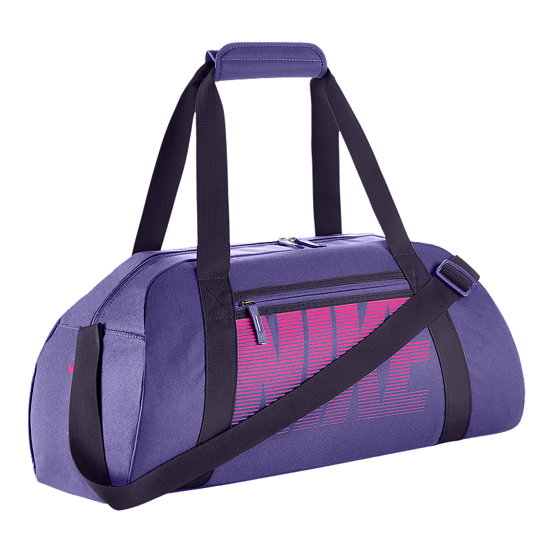 Nike Women s Gym Club Duffel Bag - Purple  6dda923fe6759