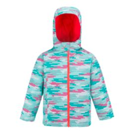 Columbia Toddler Girls' Frosty Slope Jacket & Bib Set