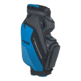 PING Pioneer Cart Bag - Grey/Blue