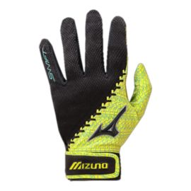 Mizuno Swift Women's Batting Glove - Blue/Yellow