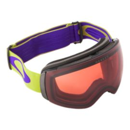 Oakley Flight Deck XM Citrus Purple Goggles with Prizm Rose Lenses