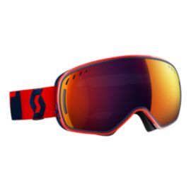 SCOTT LCG Fluo Red Ski Goggles - 16/17