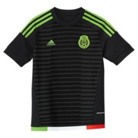 Mexico Youth Home Soccer Jersey