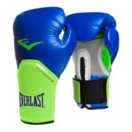 Everlast 16oz. Pro Style Training Gloves - Blue/Green
