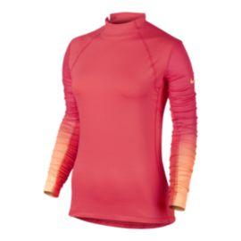 Nike Pro Hyperwarm Fade Women's Long Sleeve Top