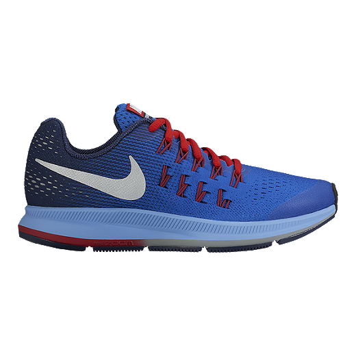 new product 30d7c 065af Nike Kids' Zoom Pegasus 33 Grade School Running Shoes ...
