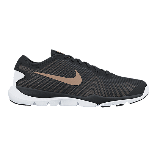 78a607e58e3f9 Nike Women s Flex Supreme TR 4 Training Shoes - Black Bronze White ...