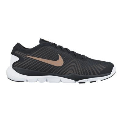 Femmes Nike Free Tr 6 Chaussures De Formation - Noir  / Bronze Polarisé