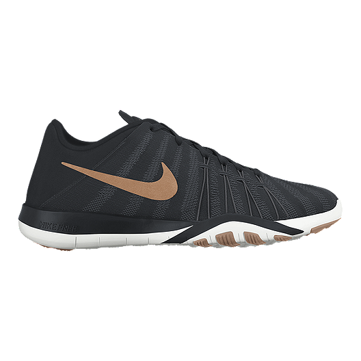 timeless design a6cf2 47df7 Nike Women s Free TR 6 Training Shoes - Black Bronze   Sport Chek