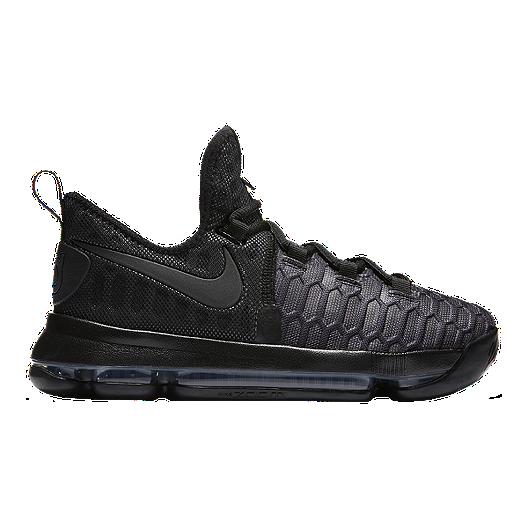 sports shoes 35d88 4bff2 Nike Kids  Zoom KD9 Grade School Basketball Shoes - Black Anthracite    Sport Chek