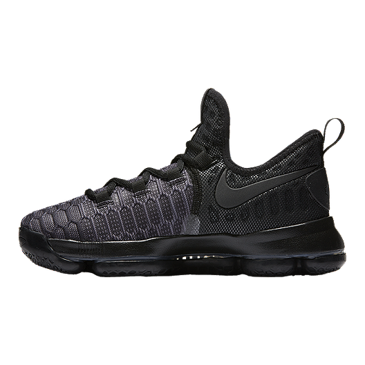 74eabed24823 Nike Kids  Zoom KD9 Grade School Basketball Shoes - Black Anthracite ...