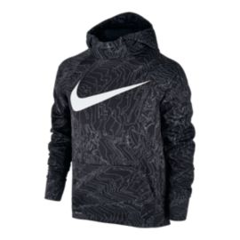 Nike Boys' Therma All Over Print Hoodie