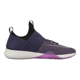 Nike Women's Air Zoom Strong Training Shoes - Purple/Black/White