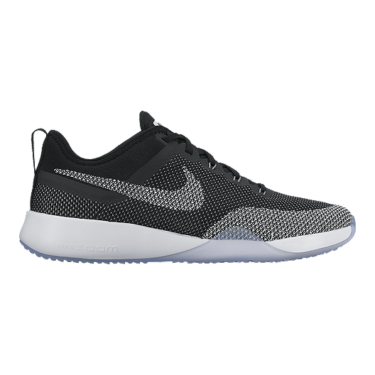 46af6ed02cd Nike Women s Air Zoom TR Dynamic Training Shoes - Black White ...