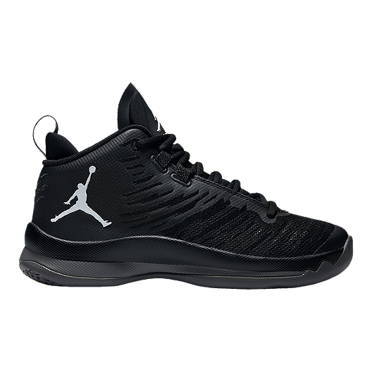 f2c452a4a211 Nike Kids  Jordan SuperFly 5 Grade School Basketball Shoes -  Anthracite Black Grey
