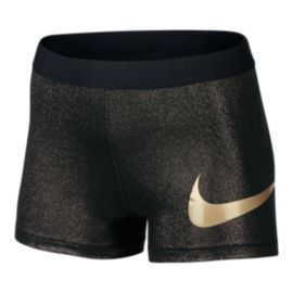 Nike Pro Cool Rose Gold 3 Inch Women's Shorts