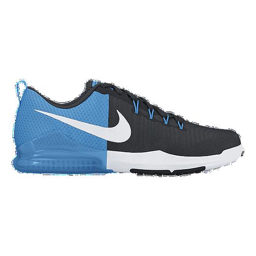 0b9e3d6e572fb Nike Men s Zoom Train Action Training Shoes - Black Blue