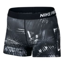 Nike Pro Cool Notebook All Over Print 3 Inch Women's Shorts