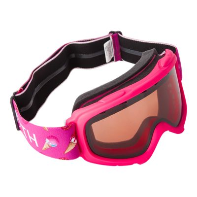 Smith Gambler Pink Junior Goggles - 16/17