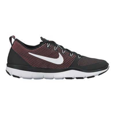 Nike Men's Free Train Versatility Training Shoes - Black/Red